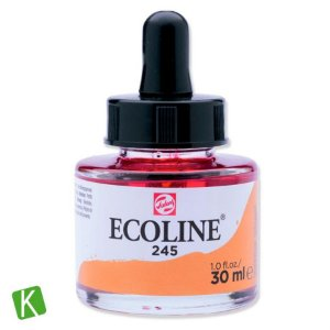 Ecoline Talens 245 Saffron Yellow 30ml