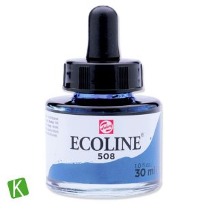 Ecoline Talens 508 Prussian Blue 30ml