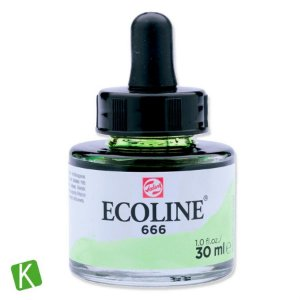Ecoline Talens 666 Pastel Green 30ml