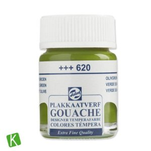Guache Talens Extra Fine 16ml 620 Olive Green