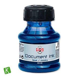 Tinta para Caneta Tinteiro Koh-I-Noor Azul 50g Acid Free