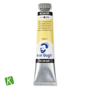 Tinta a Óleo Van Gogh 20ml 223 Naples Yellow Deep