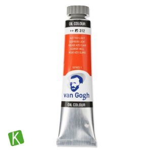 Tinta a Óleo Van Gogh 20ml 312 Azo Red Light