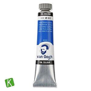 Tinta a Óleo Van Gogh 20ml 512 Cobalt Blue Ultramarine