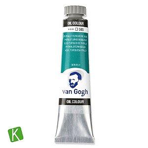 Tinta a Óleo Van Gogh 20ml 565 Phthalo Turquoise Blue