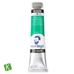 Tinta a Óleo Van Gogh 20ml 615 Emerald Green