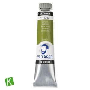 Tinta a Óleo Van Gogh 20ml 623 Sap Green