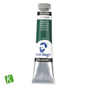 Tinta a Óleo Van Gogh 20ml 629 Green Earth