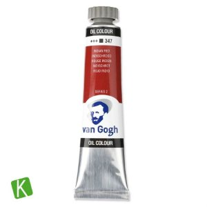 Tinta a Óleo Van Gogh 20ml 347 Indian Red