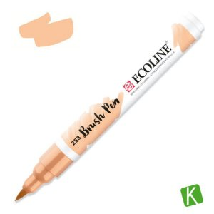 Caneta Ecoline Brush Pen Apricot 258