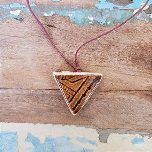 Colar aromático/ Difusor pessoal Triângulo – Naturallice