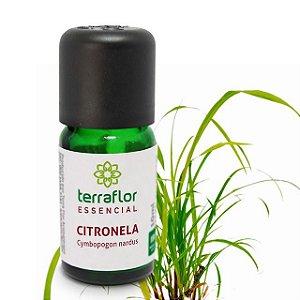 Óleo Essencial de Citronela 10ml – Terra Flor
