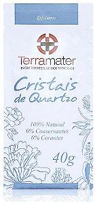 Cristais de Quartzo Esfoliantes Orgânico 40g - Terramater
