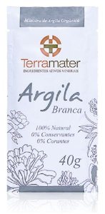 Argila Branca Orgânica 40g - Terramater