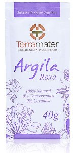 Argila Roxa Orgânica 40g - Terramater