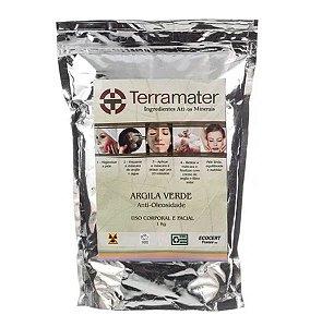 Argila Verde Orgânica 1kg - Terramater