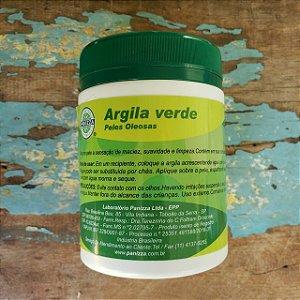 Argila Verde Natural Esterilizada 160g - PANIZZA