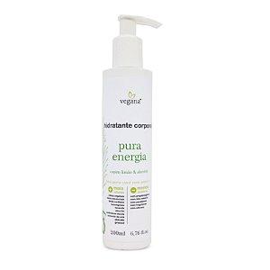 Hidratante Corporal Pura Energia 200ml - Vegana by WNF