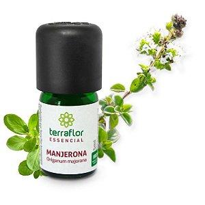 Óleo Essencial de Manjerona 5 ml – Terra Flor