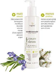 Condicionador Couro Detox Alecrim e Tea Tree 200ml - Vegana by WNF