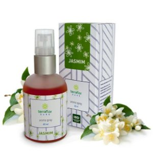 Aroma Spray de Jasmin 60ml (Difusor ou Perfume natural) - Terraflor