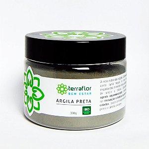 Argila Preta 300g - Terraflor