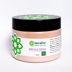 Argila Rosa 300g - Terraflor