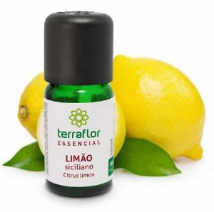 Óleo Essencial de Limão Siciliano 10ml - Terraflor