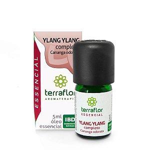Óleo Essencial de Ylang Ylang (Completo) 5ml - Terraflor