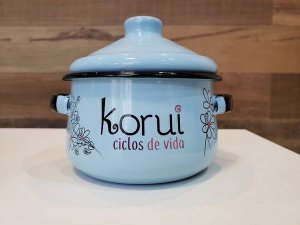 Panela Esterilizadora para Coletor Menstrual Azul - Korui