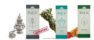 Incensos - Mãe dos lares - Inca Aromas - 9 Varetas
