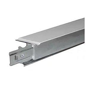 Perfil T Clicado Aço Galvanizado Para Forro Isopor 1250mm