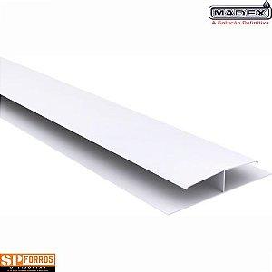 Emenda Rigida de forro PVC RÉGUA 8 X 6000 MM MADEX