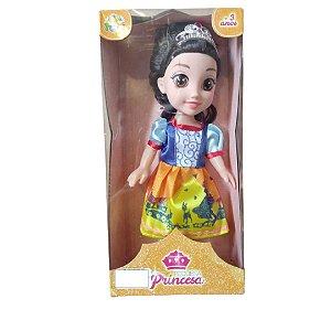 Boneca Princesa Branca De Neve Pequena - 321