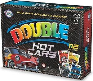 Jogo De Cartas Double Hot Cars - Tóia 12169
