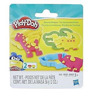 Massinha Play-Doh Kit Moldes Animais - Hasbro E0801