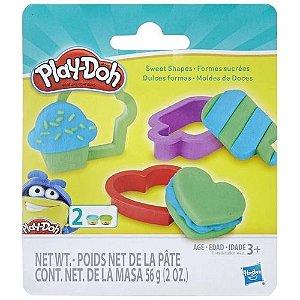 Massinha Play-Doh Kit Moldes Doces - Hasbro E0801