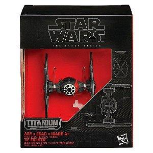 Veículo Star Wars The Black Series Titanium - Blackser Die Cast - Tie Fighter