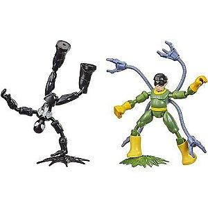 Boneco Bend e Flex Avengers Homem-Aranha vs Doc Ock - Hasbro F0239
