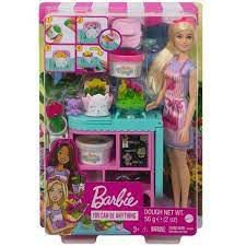 Barbie Loja de Flores - Mattel GTN58