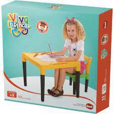 Mesinha Infantil Viva Estudar - Dismat MK38