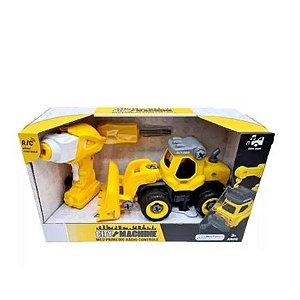 City Machine Escavadeira de Construção Multikids - BR1080