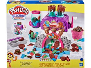 Massinha Play-Doh Fábrica de Chocolate - Hasbro E9844