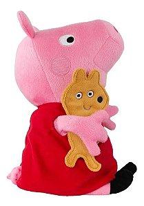 "Pelúcia Peppa Pig 10"""