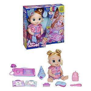 Boneca Baby Alive Lulu Achoo Hasbro - Loira