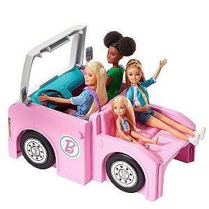 Barbie Trailer Acampamento dos Sonhos 3 em 1 - Mattel GHL93