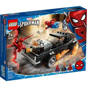 LEGO Marvel Homem-Aranha e Ghost Rider vs Carnage
