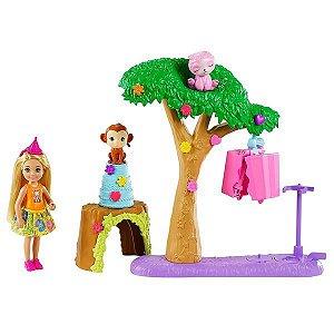 Boneca Barbie Chelsea Festa Na Selva - Mattel GTM84
