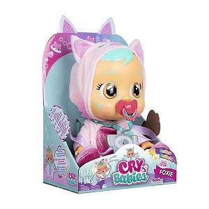 Boneca Cry Babies Foxie Lagrimas de Verdade - Multikids