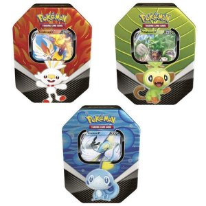 Lata Pokémon Inteleon V Parceiros de Galar